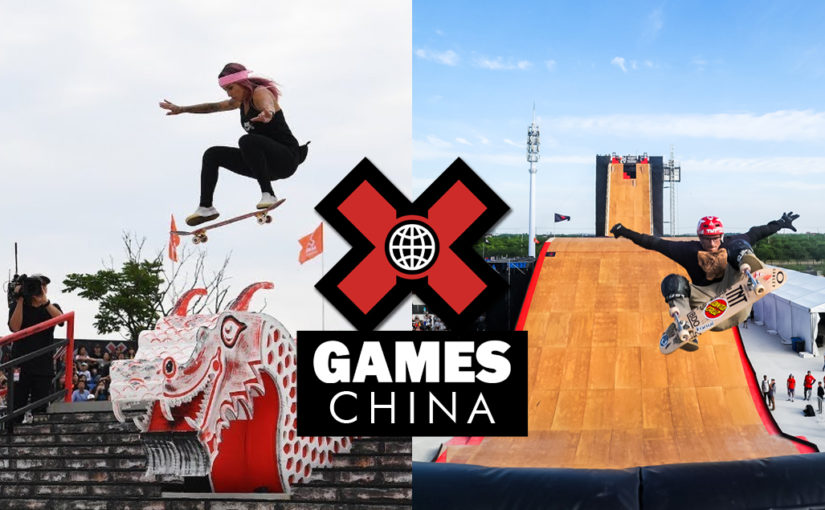 Brasil no pódio do X-Games China